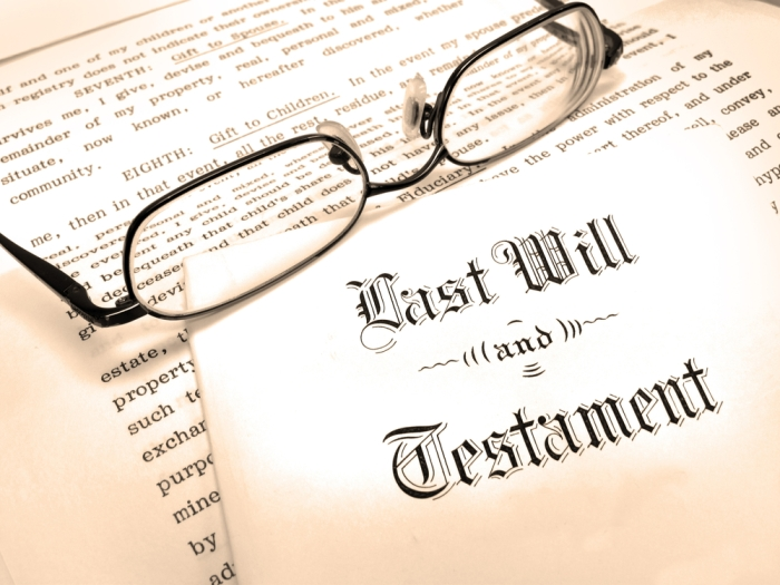 Legal-Will and Glasses