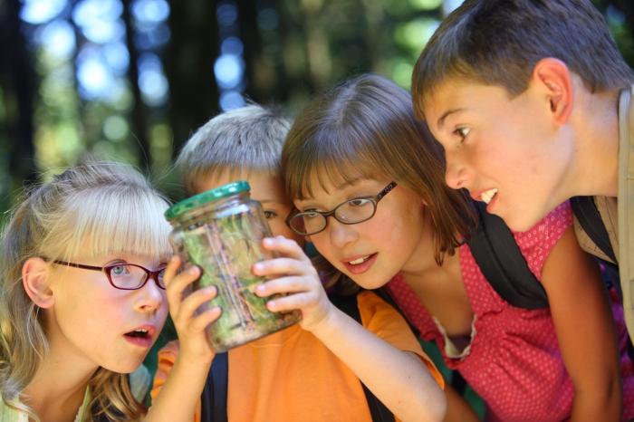 Kids--Bug in Jar