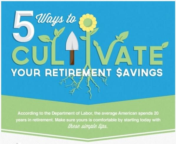 Cultivate retirement savings