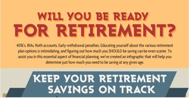 retirement savings on track